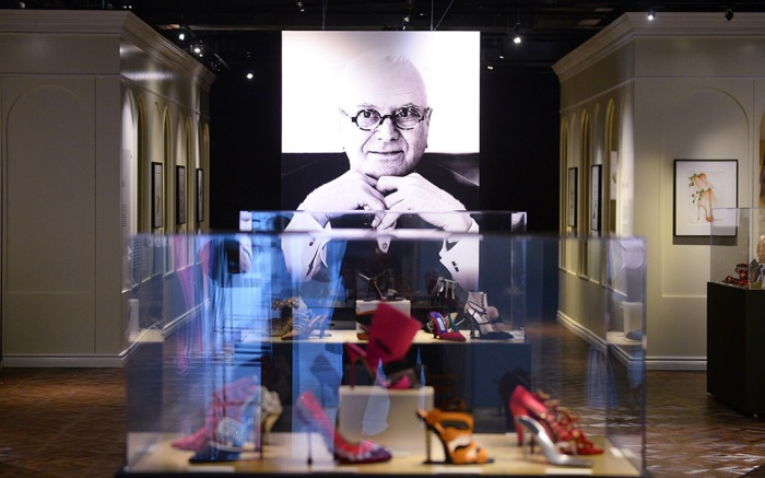 Manolo Blahnik, Manolo Blahnik shoe exhibit, Bata Shoe Museum
