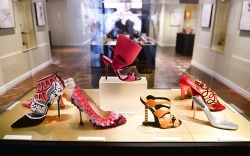 Inside the 'Manolo Blahnik: The Art of Shoes' Exhibit at the Bata Shoe Museum
