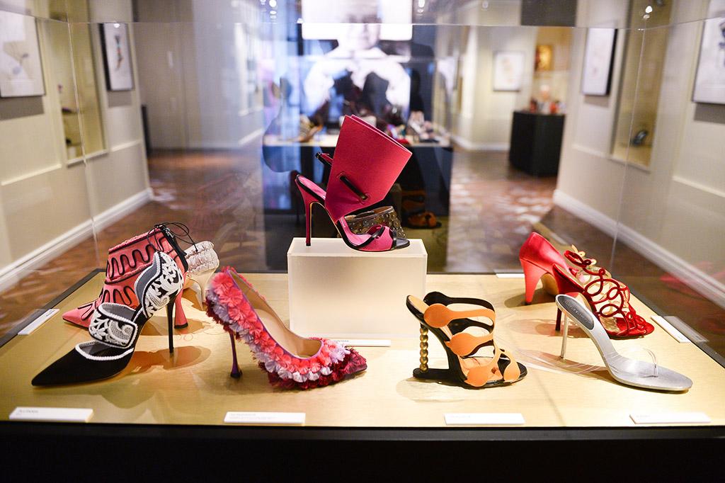 Manolo Blahnik, Manolo Blahnik shoe exhibit, Bata Shoe Museum
