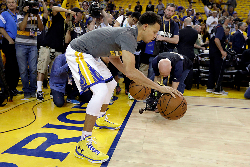 Stephen Curry Under Armour Curry 1 2015 NBA Finals