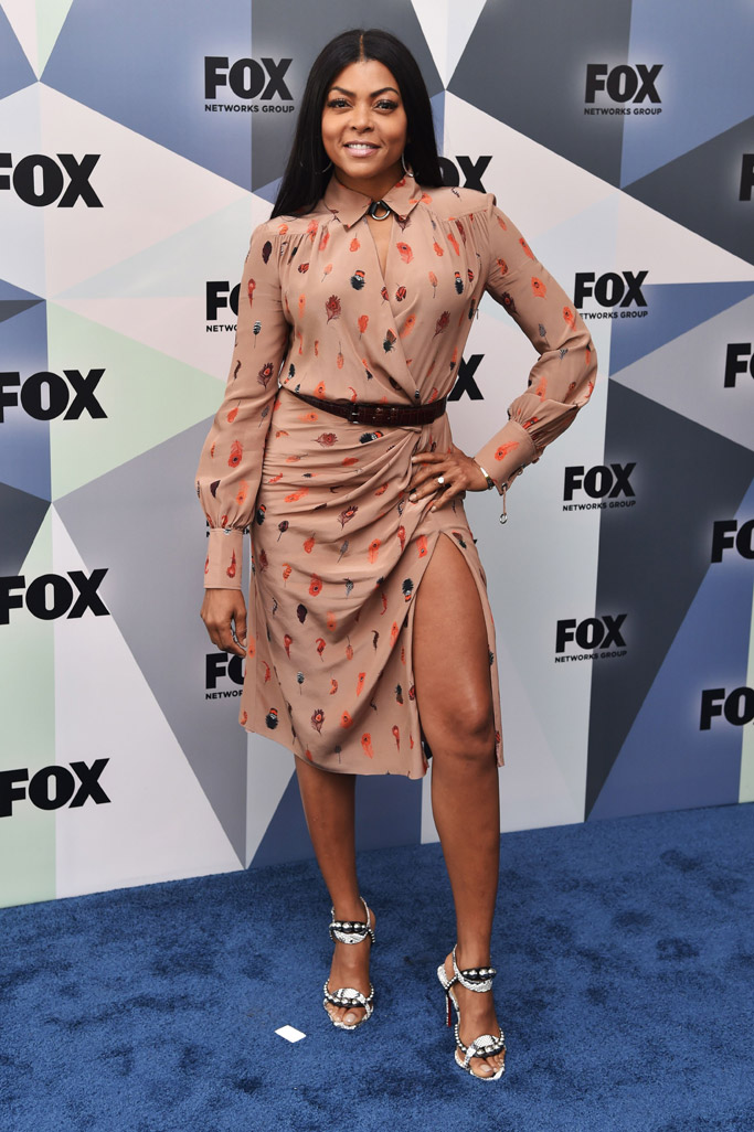 taraji p henson, Altuzarra dress, christian louboutin heels, engagement ring