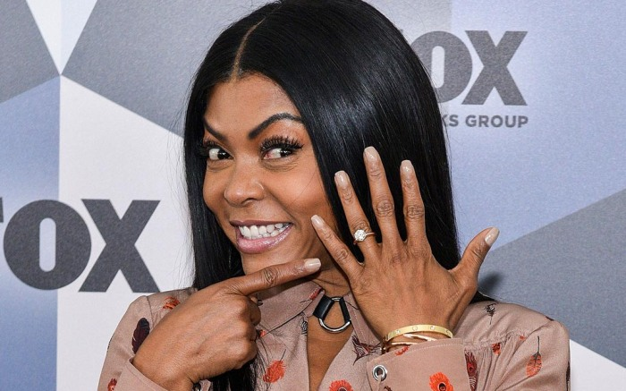 Taraji P. Henson, engagement ring, diamond