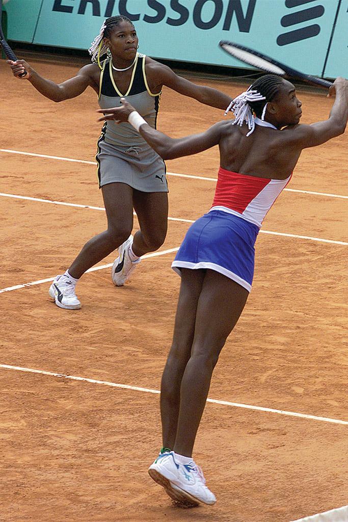 French Open Serena Venus Williams