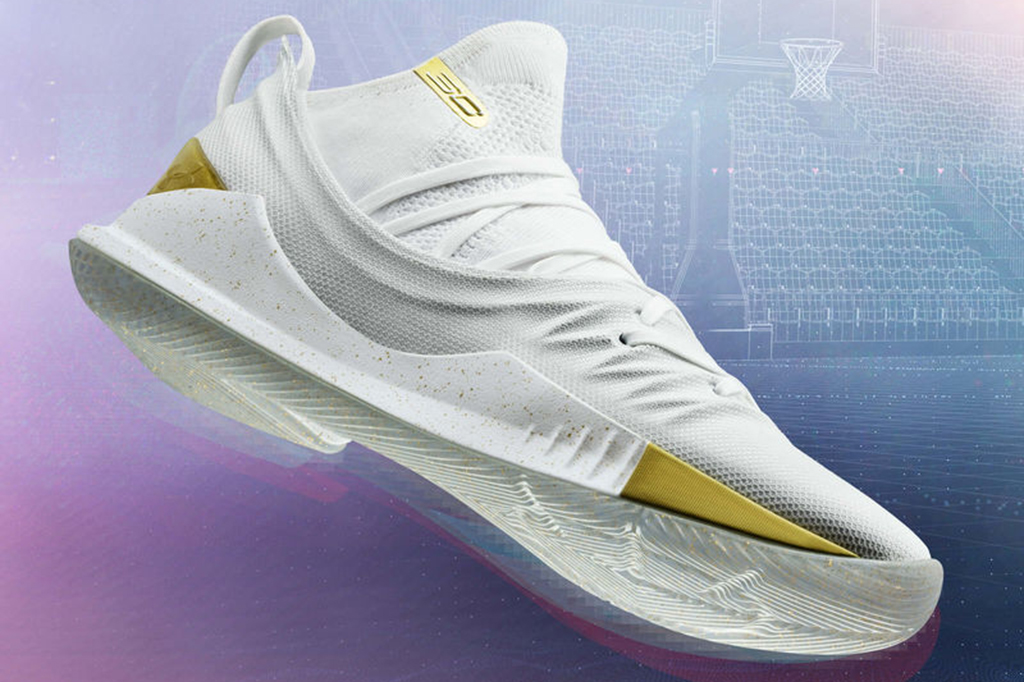 Curry 5 Colorways During the NBA Finals