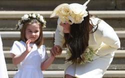 princess charlotte and kate middleton, royal