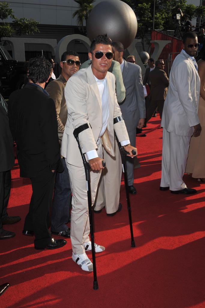 Cristiano Ronaldo, red carpet, 2008 espy awards