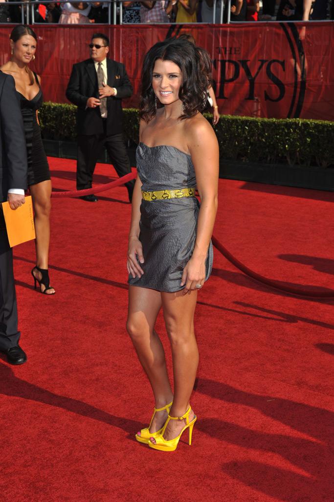 Danica Patrick, red carpet, 2008 espy awards