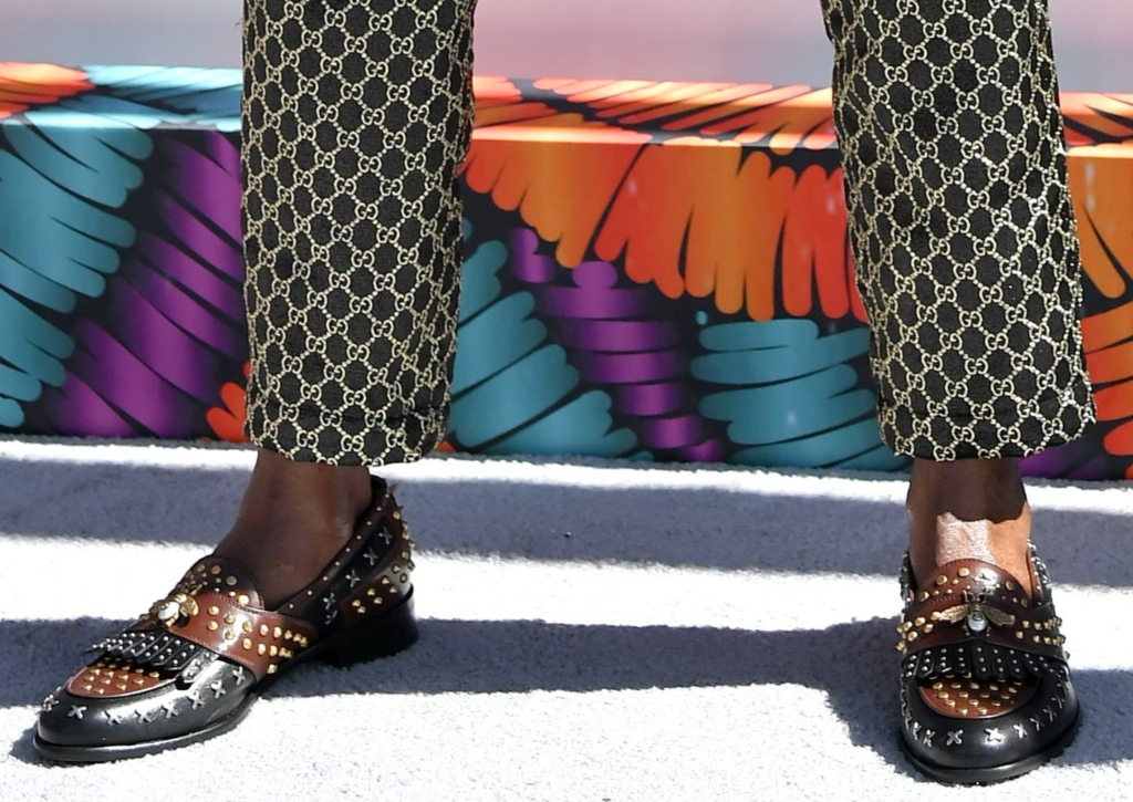 bet awards 2018, red carpet, 2 chainz, 2 chainz shoes, studded men's shoes