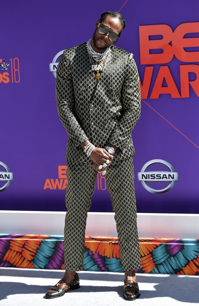 2 chainz, 2018 bet awards red carpet
