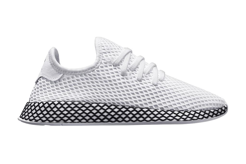 Adidas Deerupt White Black