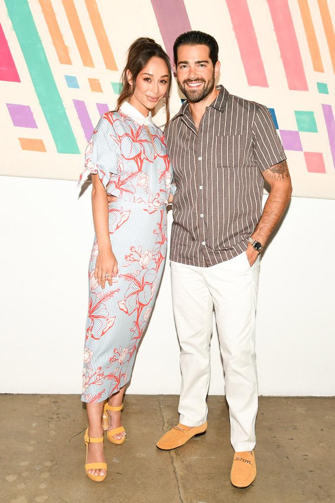Cara Santana and Jesse Metcalfe, aldo