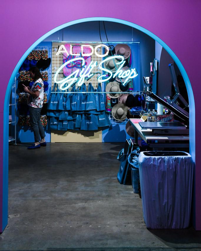 Aldo gift shop