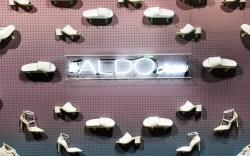aldo shoe wall