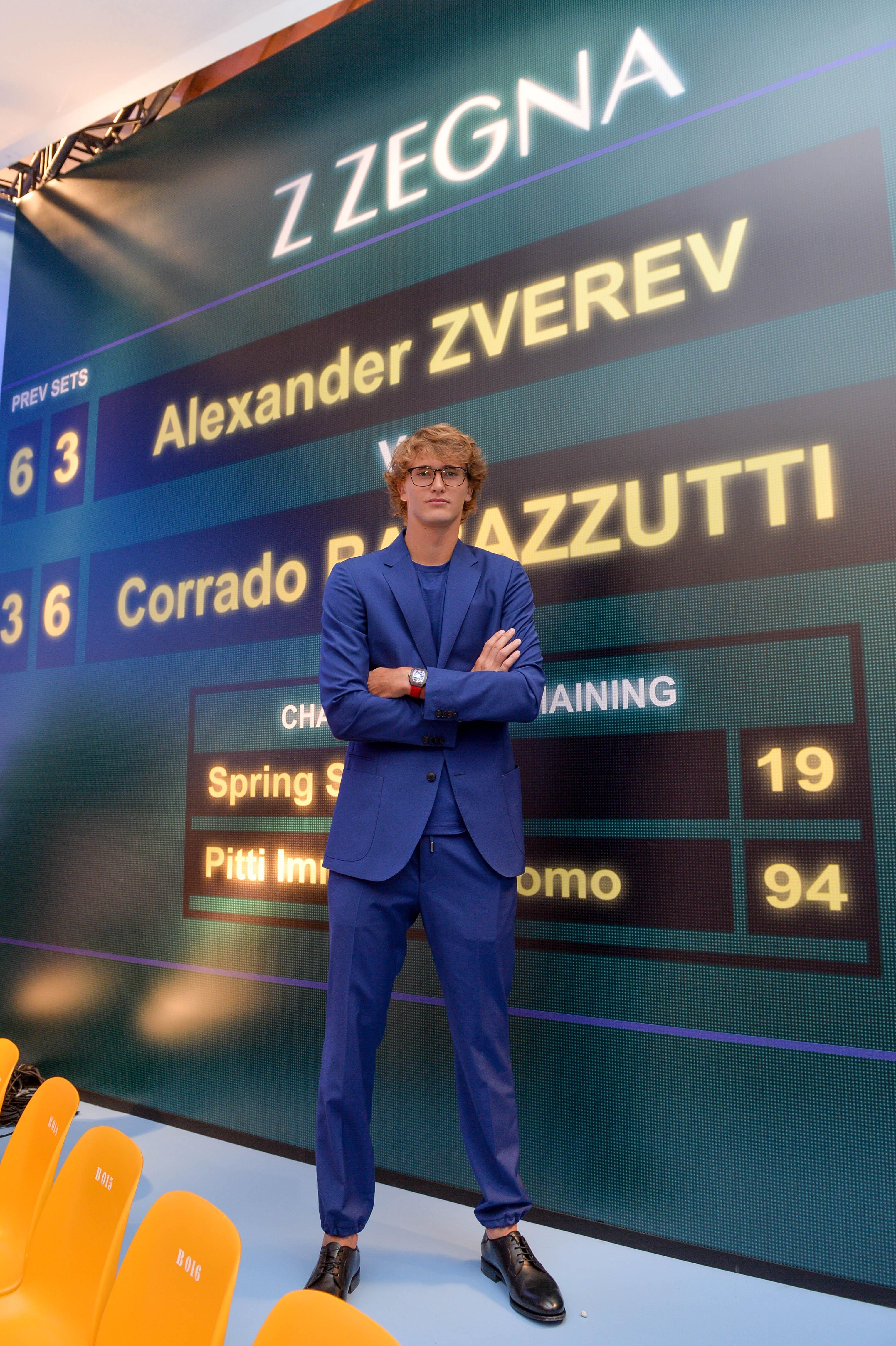 Z ZEGNA, Zegna, Alexander Zverev
