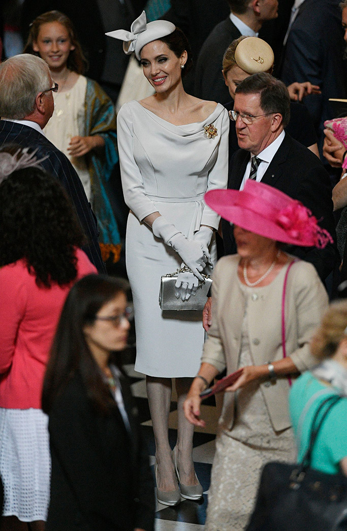 angelina jolie, ralph & russo, Most Distinguished Order of St. Michael and St. George