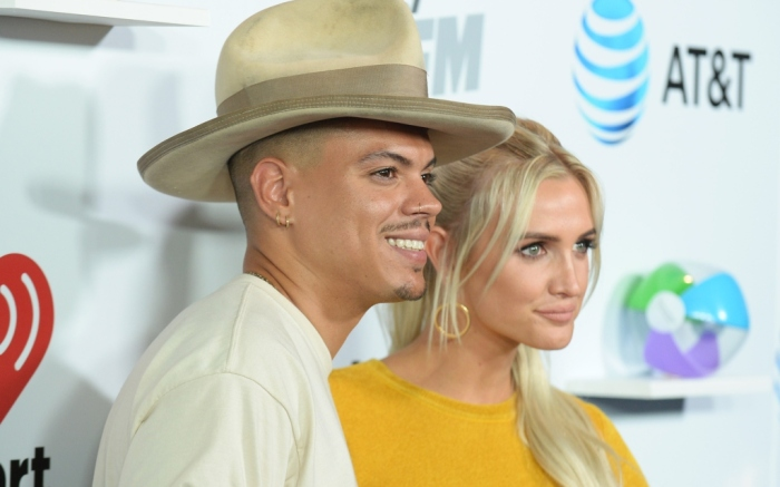 iHeartRadio Wango Tango, evan ross, ashlee simpson