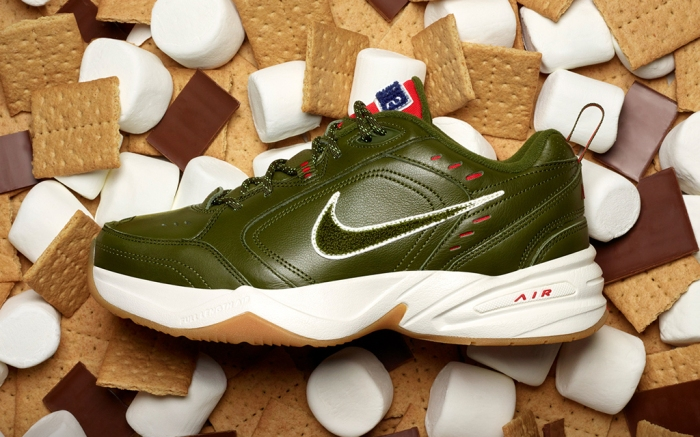 Nike Air Monarch Campout