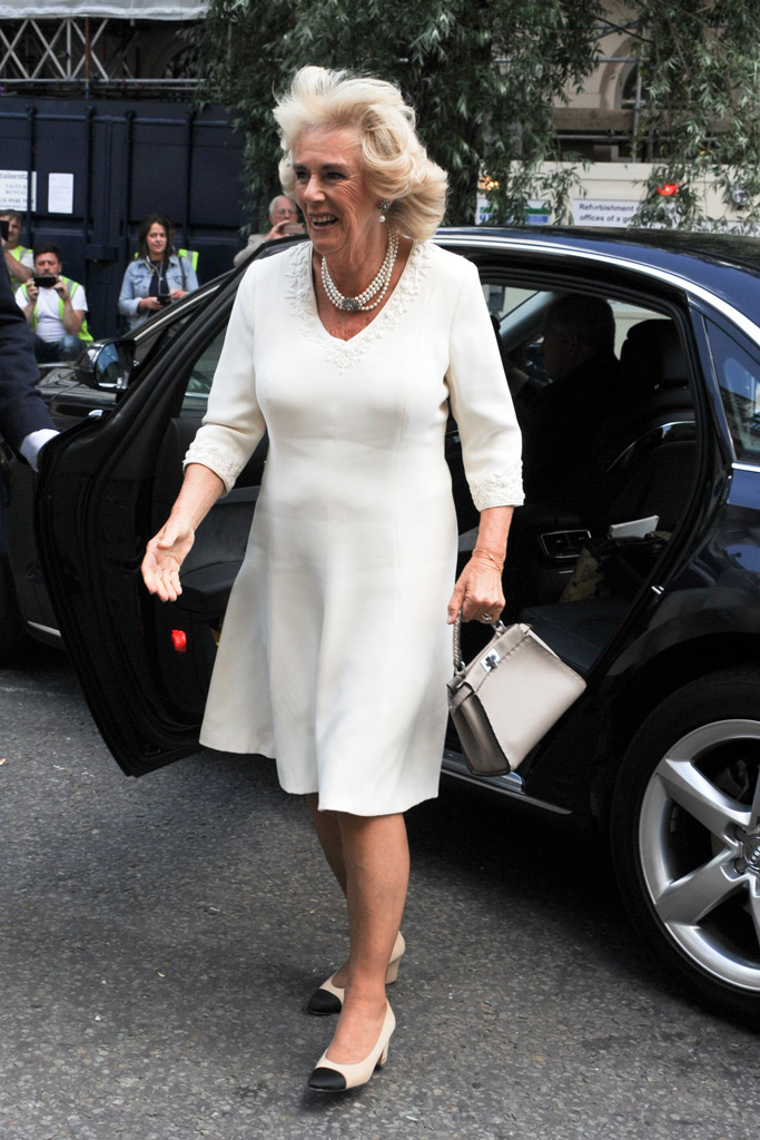 camilla, duchess of cornwall, chanel shoes