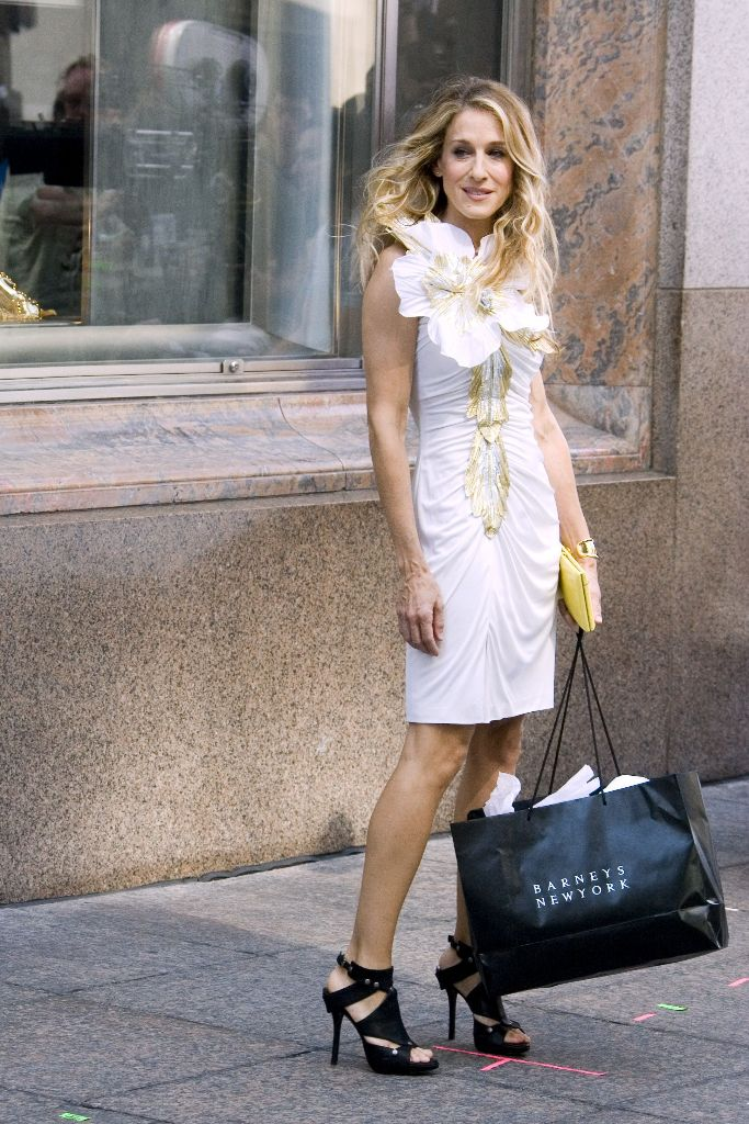 sex and the city carrie bradshaw 20th anniversary shoes fashion icon