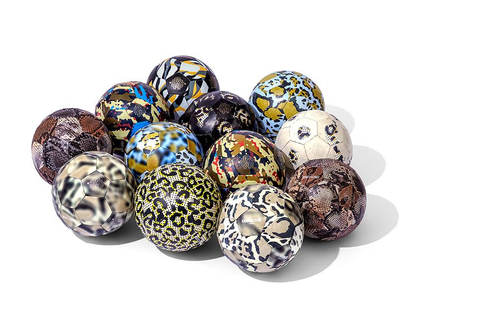 Roberto Cavalli soccer balls for Fanatic Feelings