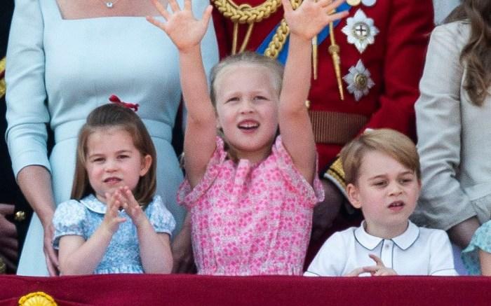 Princess Charlotte, Savannah Phillips, Prince George