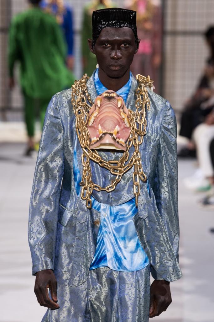 Commes des Garcons spring 2019, paris fashion week men's
