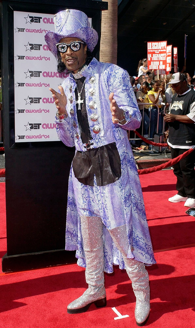 Bootsy Collins, BET Awards, 2004, crazy outfit