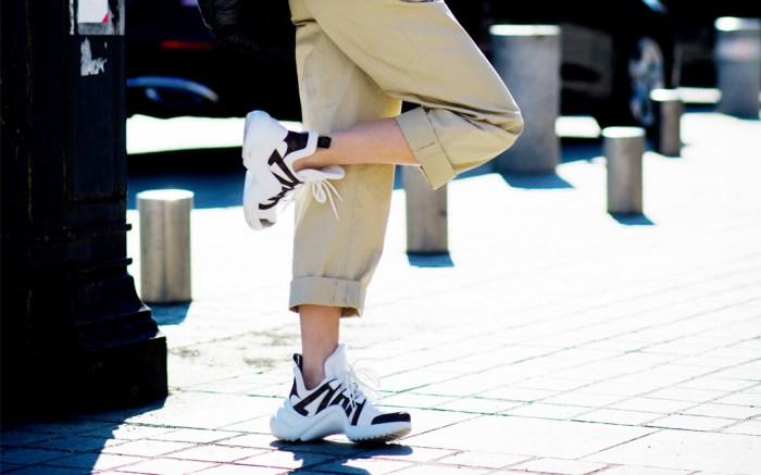 Dad shoes, louis vuitton