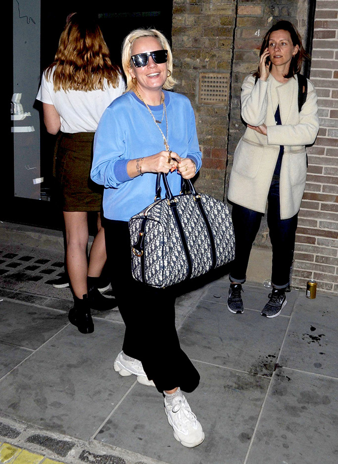 lily allen, dad shoes trend, dad sneakers