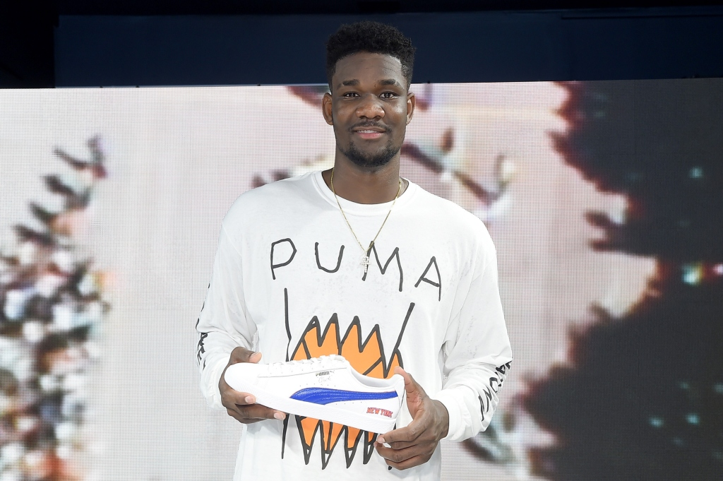 Puma Signs Deandre Ayton to