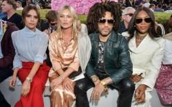 Victoria Beckham, Kate Moss, Lenny Kravitz,