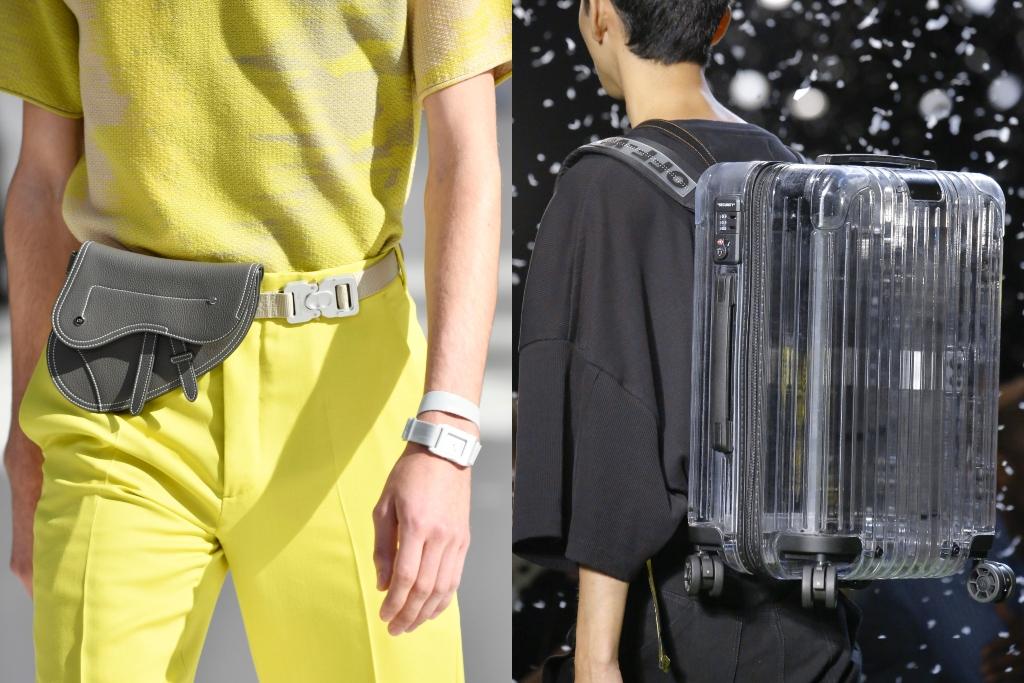 off-white x rimowa, dior spring 2019, paris fashion week men's