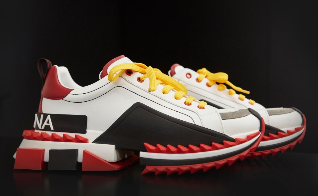 dolce and gabbana men's spring 2018 sneakers