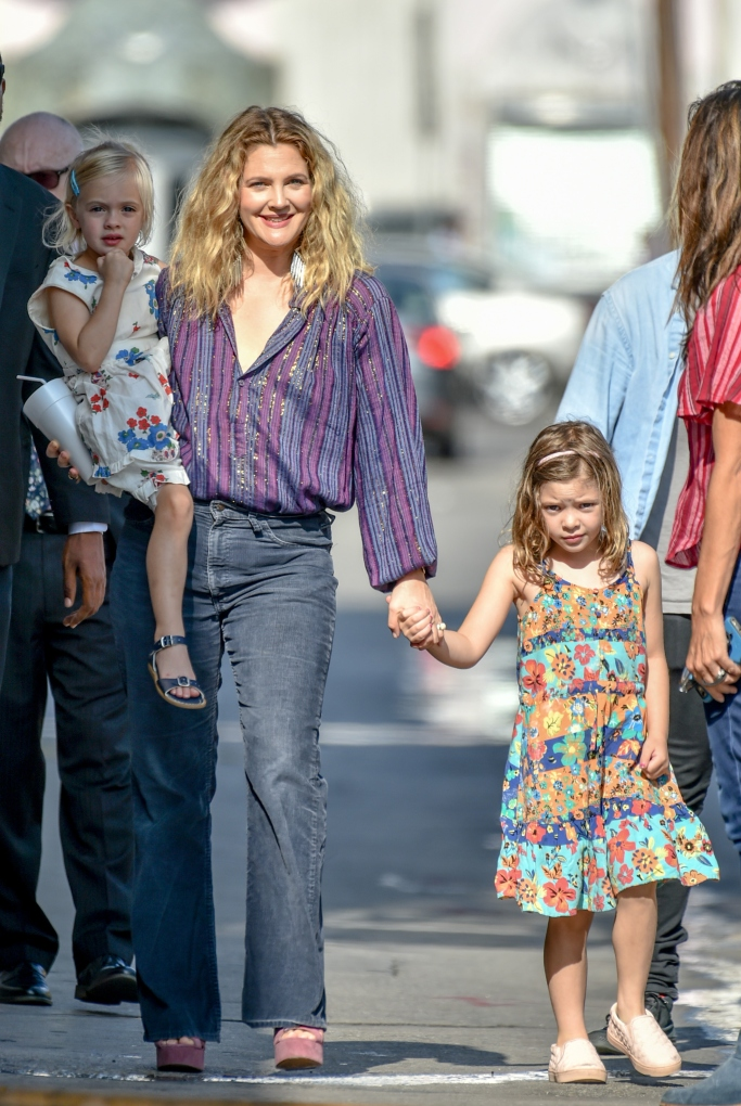 drew barrymore, drew barrymore daughters