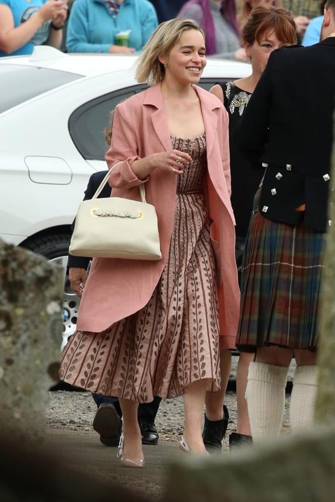 Emilia Clarke, rose leslie, kit harington, wedding, marriage