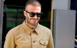 David Beckham attends Kent and Curwen