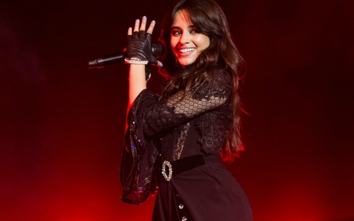 Camila Cabello takes the stage in London during her first solo tour.