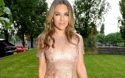 Elizabeth Hurley attends NSPCC event in