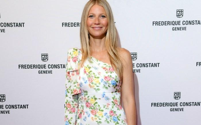Gwyneth Paltrow attends Gwyneth Paltrow x Frederique Constant watch launch event.