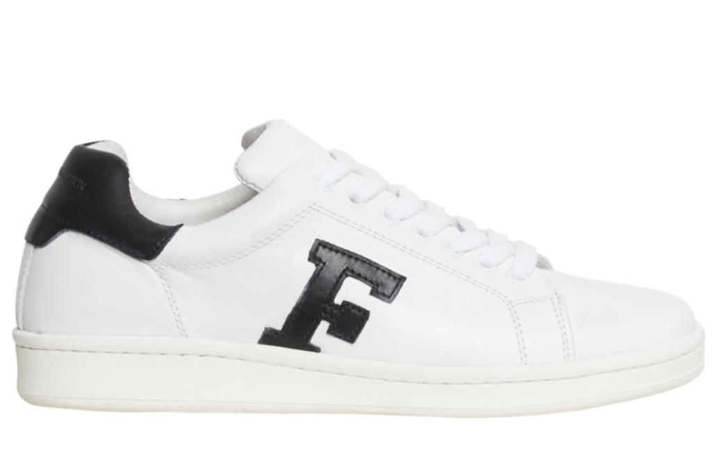 French Connection F logo lace-up trainer