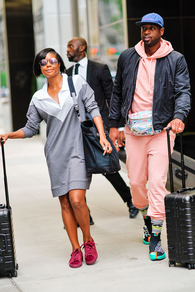 gabrielle union, dwayne wade, new york, hotel