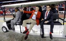 George H.W. Bush, socks