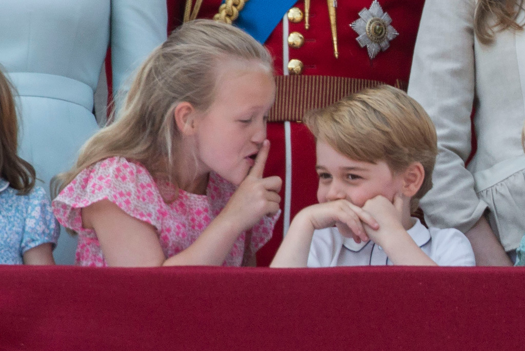 trooping the colour parade, savannah phillips, prince george