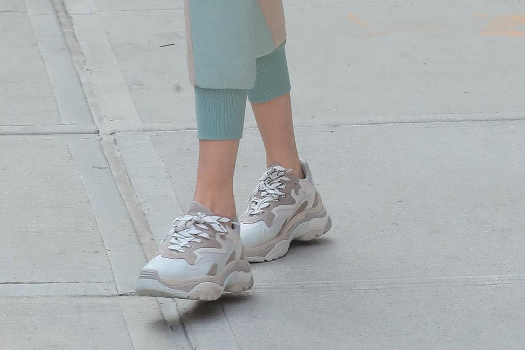 Gigi Hadid Ash Dad Sneakers