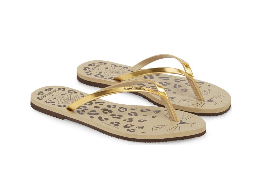 havaiana charlotte olympia flip flops