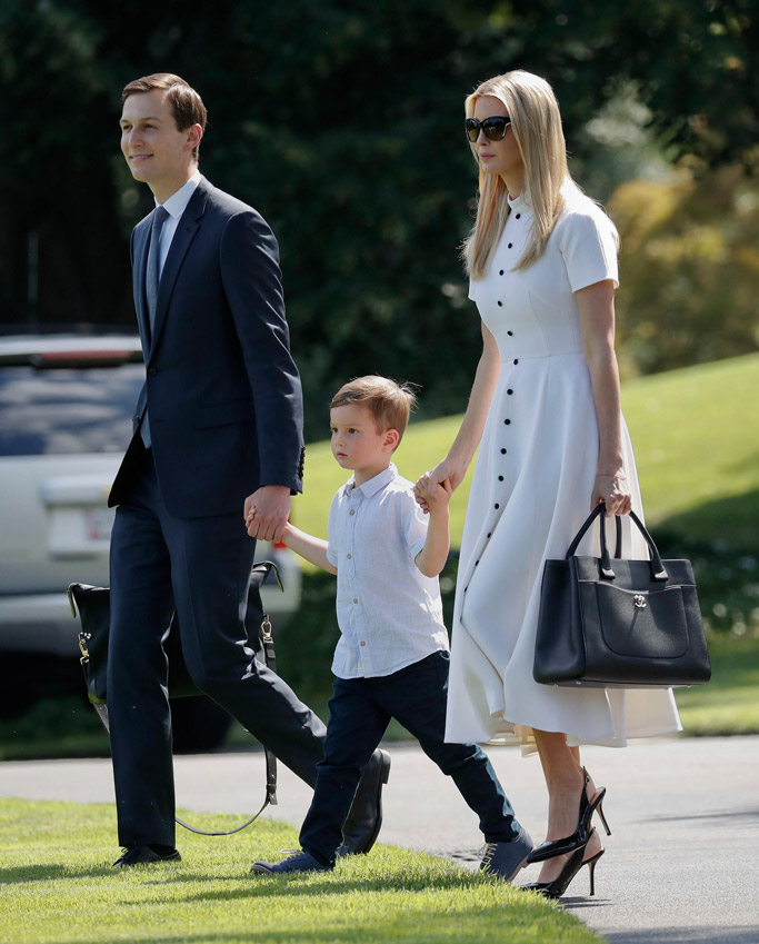 Jared Kushner, Joseph Kushner and Ivanka Trump