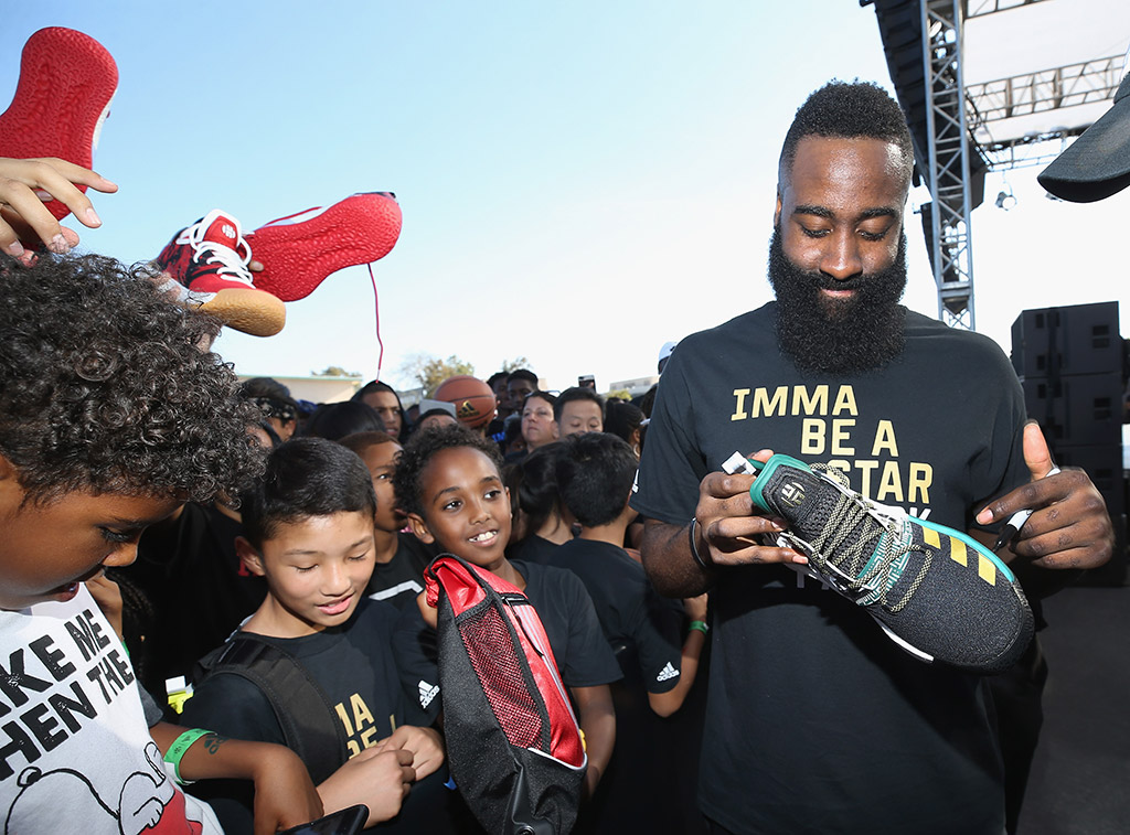 Adidas, james harden, imma be a star, sneakers