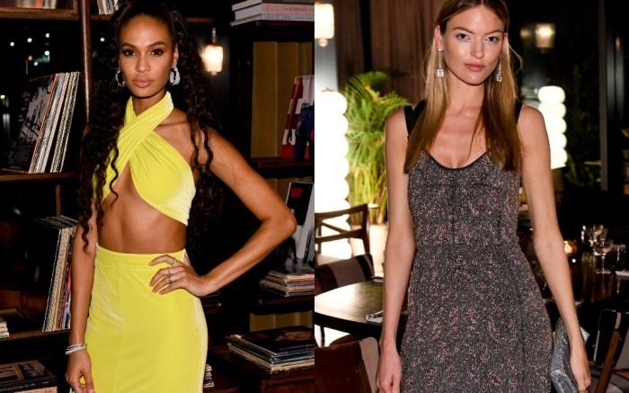 joan smalls, martha hunt, cfda fashion awards after party