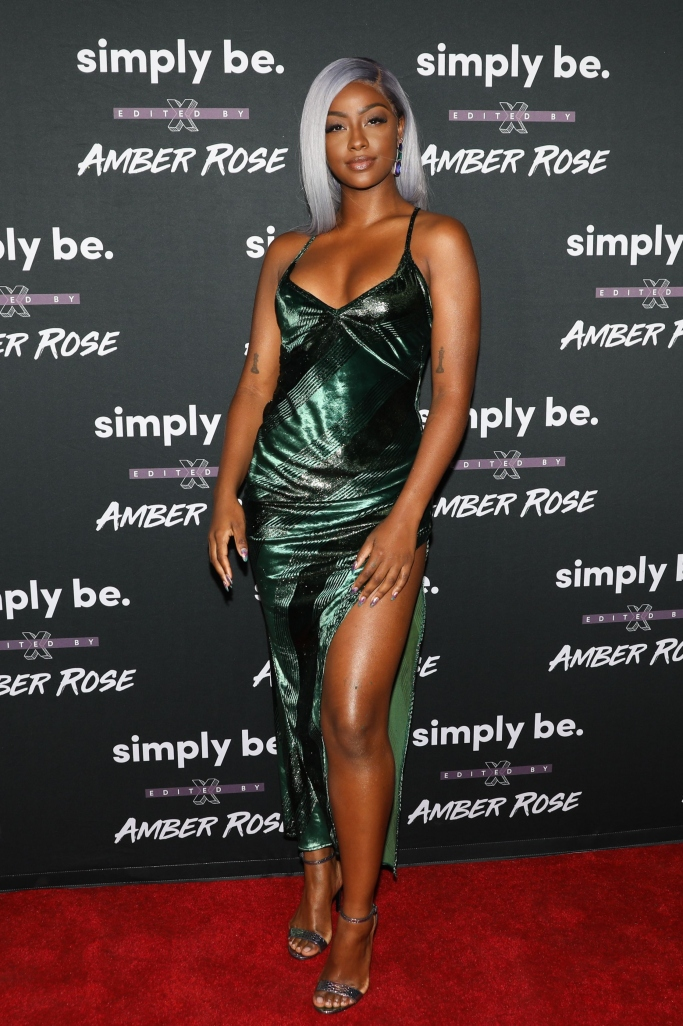 justine skye, Amber Rose x Simply Be Launch Party