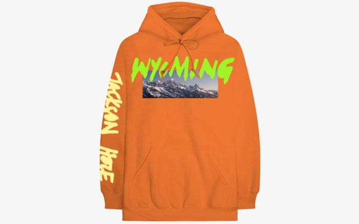Kanye West Wyoming Hoodie Orange